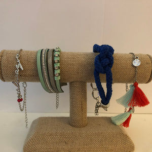 Set of 4 Trendy Bracelets OR Anklets!